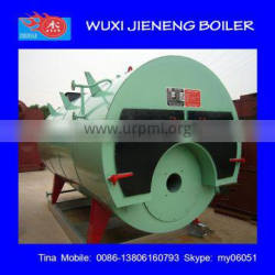 wns natural gas fired steam/hot water boiler