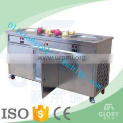 fried ice cream machine/ice cream cold plate machine/thailand fry ice cream machine