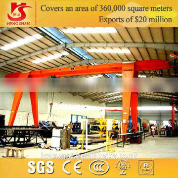 Electric Winch Double Beam Gantry Crane