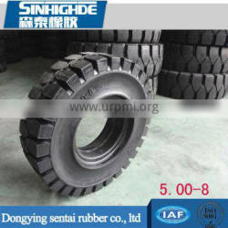 China Wholesale Custom rubber solid tyre 5.00-8