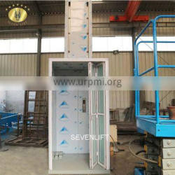 7LSJW Shandong SevenLift 300 kg small lift home moblity stair pwd moto vital elevator prices