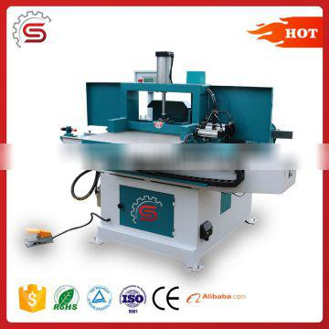 Semi-automatic woodworking finger joint shaper