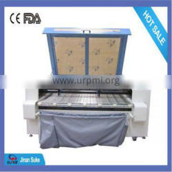 Auto Feeding Laser Cutting Machinery USB 1600*1000mm for Shoemaking Industry