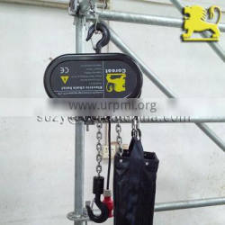 5 Pockets Chain Sheave Stage Swing Steel Electric Chain Hoist CE 1 Ton