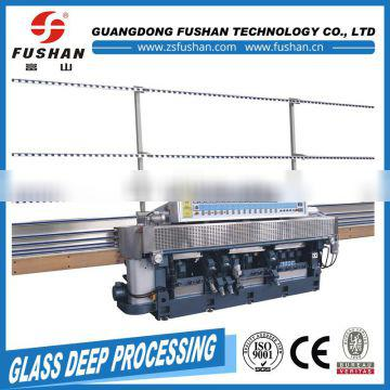 Best price of 14 motors glass edging machine with pneumatic polish made in China