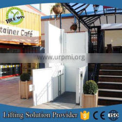 CE approved Indoor or outside Widely used vertical man lift accessible vertical lifts wheelchair platform