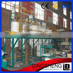 decolorizing process high refined cooking oil refining machine