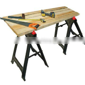 Plastic woodworking high capacity stands sawhorse