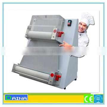 automatic stainless steel pizza dough sheeter, pizza making machine for restaurant