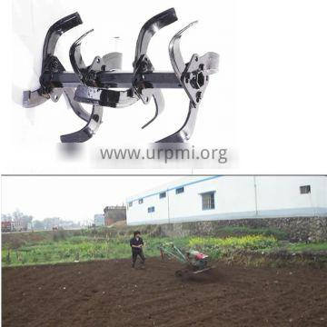 China Good Diesel Low Oil Consumption Hand Operating Walking Tractor Rototiller