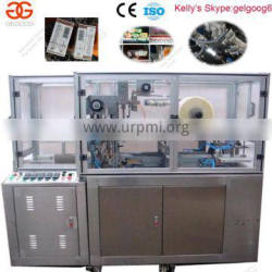 Cellophance Perfume Box Packing Machine|Tear Tape Overwrapping Machine