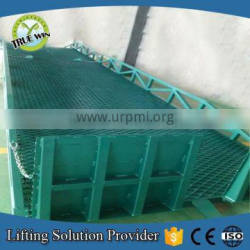 Competitive price 10 ton truck portable loading dock ramps