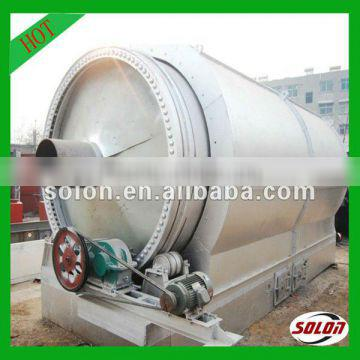 Automatic Environmental-friendly waste tyre to diesel plant with high efficiency