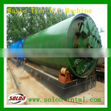 Automatic Environmental-friendly waste tyre recycling fuel oil with high efficiency
