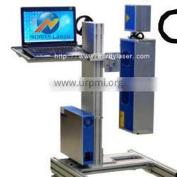 Plastic co2 laser mark machine made in China