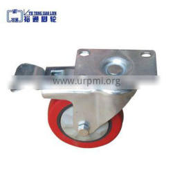 Factory direct sale Protecting cover casters, 3 inches pvc caster wheel