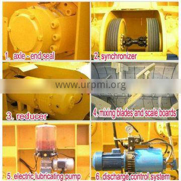 Used concrete mixer for sale with good performence for sale