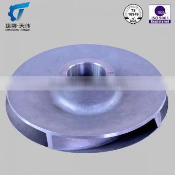ISO standard stainless steel impeller for water pumps