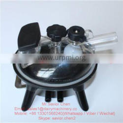 240ml Milking Cluster Parts , Cow Milking Collector