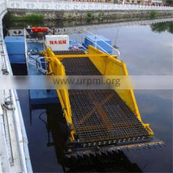 Indonesia Cheap River fully automatic clean trash skimmer boat