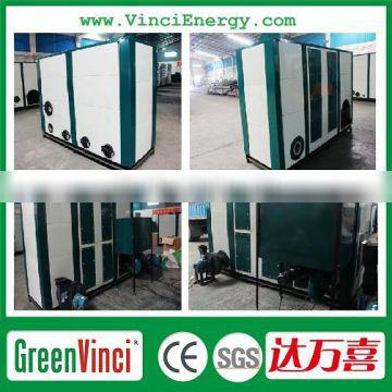 Natural biomass pellet-fired hot air generator / hot air heater for greenhouse/poultry house/livestocks/factory/mine