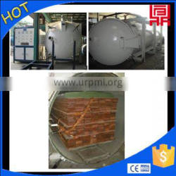 long timber plank vacuum dry kiln equipment high frequency