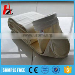 High temperature dust collector filter bag for cement plant