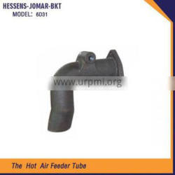 China new products engine parts air feeder tube 6D31 for excavator