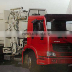good performance SINOTRUCK Qingdao sanitation trucks refuse compactor truck