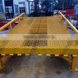 ISO/CE approved hydraulic ramp