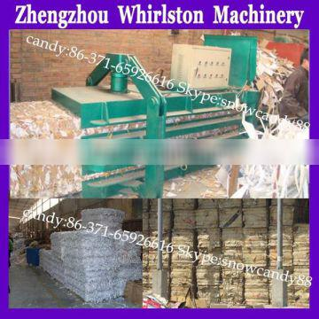 high efficiency compress carton and paper baling machine