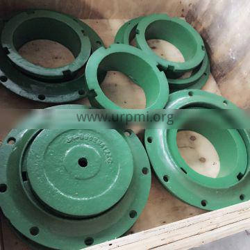 High chrome spare parts of distributor plate used for Barmac VSI crusher