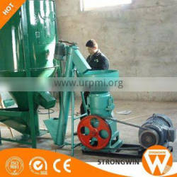 Henan Strongwin 300kg/h -500kg/h chicken feed manufacturing line plant for animal feed
