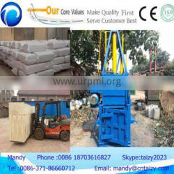 Hydraulic model carton/used paper/scrap iro compress baler machine with high quality
