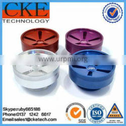Various Color Anodizing Aluminum Turned Parts in Machining Fabrication