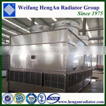 China product evaporative condenser for cold storage in Chile