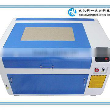 2016 high quality portable co2 acrylic crystal leather acrylic laser engraving machine