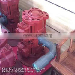 HPV091 hydraulic main pump HPV091 hydraulic pump for excavator EX200-2 EX200-3 parts
