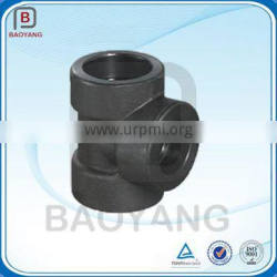 OEM 45 Degree Carbon Steel Pipe Fitting Lateral Tee