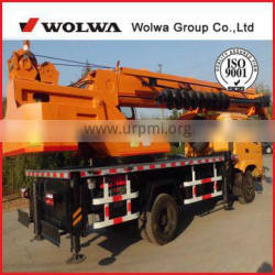Wolwa 12ton dilling truck crane for Russia & Middle Asia market