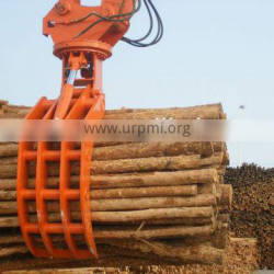 Hitachi zx70 Rotating type hydraulic wood grapple for excavator
