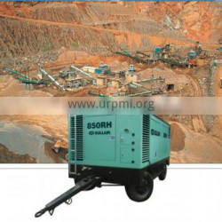 Sullair Dealers Portable Rotary Screw Compressor With Spare Parts