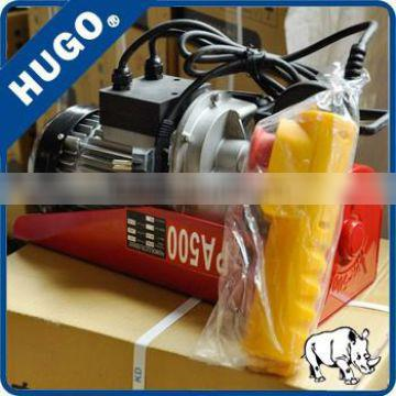Hot Sales High Quality Indoor Small Wire Rope Electric Hoist