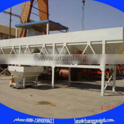 concrete station aggregate and cement weigh batcher