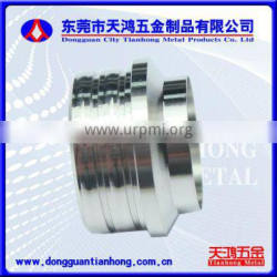 Cylindrical stainless steel turning parts used in machinery