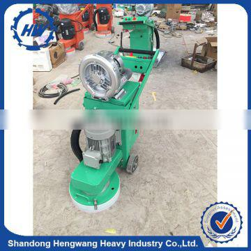 Hand held Diamond concrete polishing grinder with vacuum cleaner