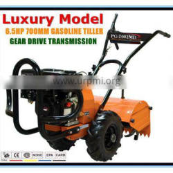 6.5HP Luxury Chinese Gasoline Cheap Hand Cultivator Hand Tillers For Sale