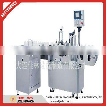 Automatic top labeler &automatic round bottle labeling machine