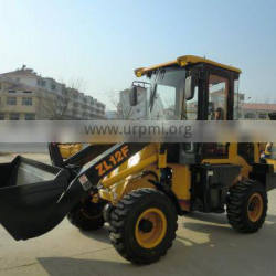 ZL12 diesel small wheel loader CE approved