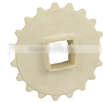Making small nylon plastic sprockets for food line/chain sprocket